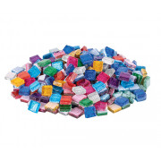 Glitter Glass Mini Mosaic 500g Assorted
