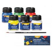 Fabric Paints Basic Set  (Box 6)