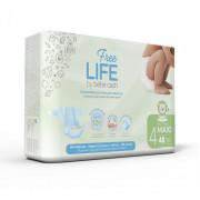 Nappies Freelife Large (7-18KG) Size 4 (Box of 96)