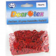 Scatters Sequins Red Hearts 14g Pack