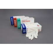 Latex Powdered Gloves - Medium