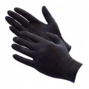 Black Nitrile Gloves - Large (Pack of 100)
