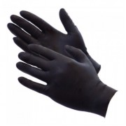Black Nitrile Gloves - Small (Box of 100)