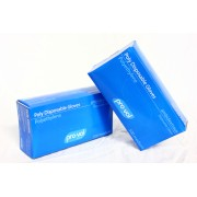 Disposable Poly Gloves - Blue