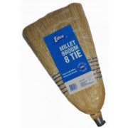Millet Broom and Handle 8 Tie