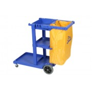 Edco Janitor Cart + 80L Bag