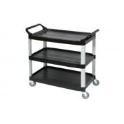 Edco Utility Cart - Black