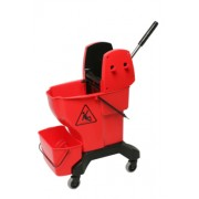 Enduro Wringer Bucket - Red