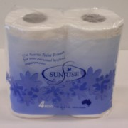 Sunrise Toilet Rolls 2ply