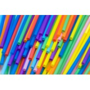 Coloured Straws 210mm 1500pk