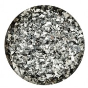 Glitter Flakes Silver 1kg