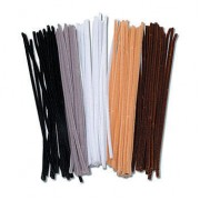 Chenille Stems Animal 100pk