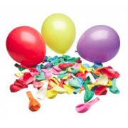 Balloons Assorted Colours 100pk