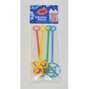 Bubble Wands Large 4pk