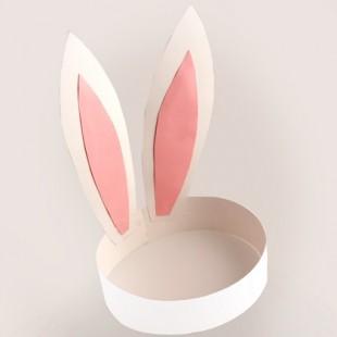Paper Rabbit Ear Crown 10pcs