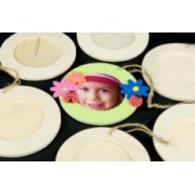 Wooden Frame Round 100mm (Pack of 10)