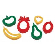Dough Cutters Fruits (Pack of 6)