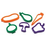 Cookie Cutters Vegetables 6pk