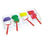 4 Bay Paint Roller Tray