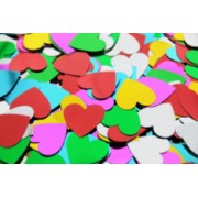 Sequins Hearts Large 100g