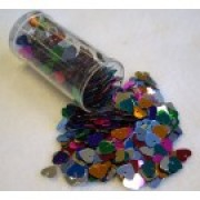 Sequins Hearts Small 50g