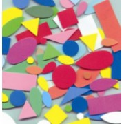 Foam Shapes Asst Colours 250pk