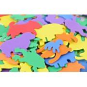Foam Shapes Asst Animals 300pk