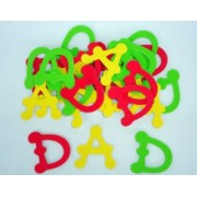 Foam DAD Letters 50x45mm 30pk
