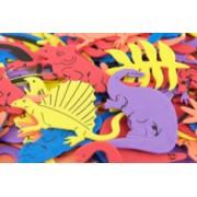 Foam Shapes Dinosaur 95pk
