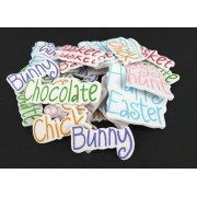 Foam Stickers Easter Word 30pk