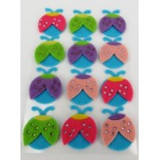 Foam Make A Ladybug Set 10pk