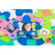 Foam Frames Flower Magnet 10pk