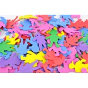 Foam Shapes Asstd Kids 160pk
