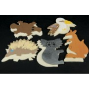 Wooden Aussie Animals (Pack of 10)