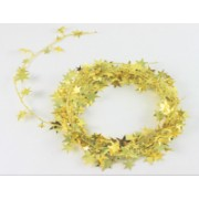 Xmas Garland - Small Stars Gold 2.7m