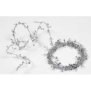 Xmas Garland Small Stars - Silver