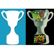 Paper Trophy - White (Pack of 10)