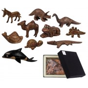 Wooden Animals General (Pack of 10)