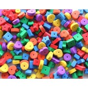 Foam Beads Assorted 300 pack