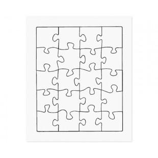 Cardboard Jigsaw (Pack of 20)