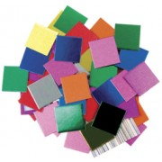 Mosaic Metallic Squares 5000pk