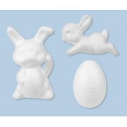Styrene Rabbits & Eggs 30pk