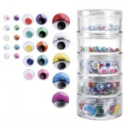 Joggle Eyes Coloured 450pk