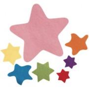 Felt Stars Asstd 100pk