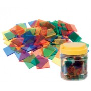 Mosaic Plastic Tiles (Pack of 500)