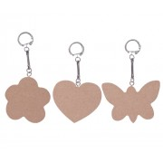 Wooden Key Chains Large 10s
