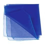 Poly Organza 70cm x 10m Blue