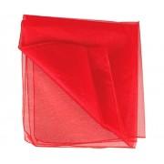 Poly Organza 70cm x 10m Red