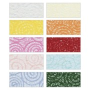 Lace Paper A4 - Assorted (Pack of 20)