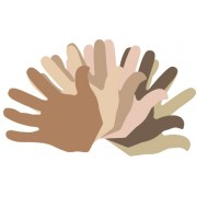 Paper Shapes - Hands (Pack of 50)
